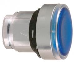 Головка кнопки с подсветкой синяя Schneider Electric ZB4BH063 цена, купить