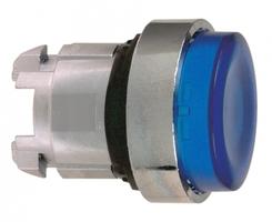 Головка кнопки высокой синяя Schneider Electric ZB4BH63 с подсветкой цена, купить