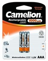 Аккумулятор R03 NI-MN 1000мА.ч BP-2 (блист.2шт) Camelion 6182 купить в Москве по низкой цене