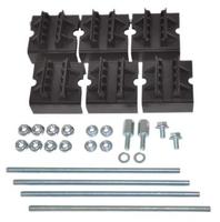 Набор держателей, для шин толщиной 10мм, 1-2 шины на полюс, 3 полюса код R5BSEV2/10T DKC (ДКС) купить по оптовой цене