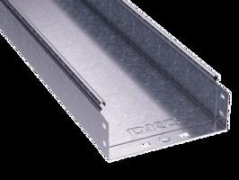 Лоток неперфорированный 80х 80х3000х0,7мм   35061 DKC (ДКС) листовой L3000 сталь купить в Москве по низкой цене