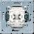 Кнопка без фиксации 1-клавишная. (1-полюсная). С НО контактом. Механизм. 10A 250V JUNG 531U