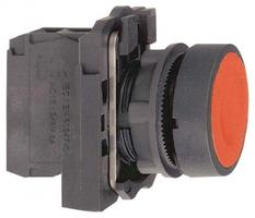 Кнопка красная возвратная 22мм без фиксации 1нз Schneider Electric XB5AA42 С подсветки купить в Москве по низкой цене