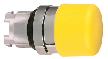 ГОЛОВКА КНОПКИ 22ММ ЖЕЛТАЯ ZB4BC54   Schneider Electric для с возвр Гриб 30мм цена, купить