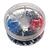 Контейнер двойных наконечников-гильз с изолир.фланцем 0,75-2,50 кв.мм (1 упаковка - 200 шт)