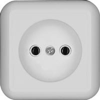 ПРИМА Розетка наружная белая индивидуальная упаковка RA10-164I-BI Schneider Electric, цена, купить