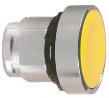 ГОЛОВКА ДЛЯ КНОПКИ 22ММ ЖЕЛТАЯ ZB4BA5   Schneider Electric с подсветкой купить в Москве по низкой цене