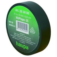 Изолента ПВХ, цвет чёрный, шир. 19 мм, длина 20 м, d 74 мм | 263842 Haupa черн x купить в Москве по низкой цене