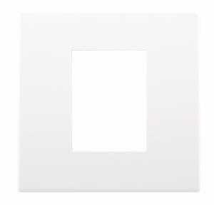 Рамка одинарная 230S, белый пластик 4911002580