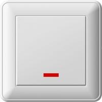 Переключатель 1-кл. СП W59 16А с индик. бел. SchE VS616-157-18 (ВС616-157-18) Schneider Electric купить по оптовой цене