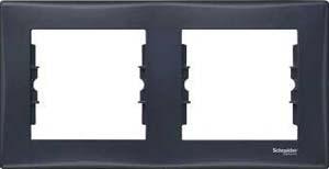 Рамка 2-м Sedna горизонт. графит SchE SDN5800370 Schneider Electric купить по оптовой цене