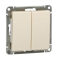 Механизм переключателя 2-кл. W59 10АХ сл. кость SchE VS610-256-2-86 Schneider Electric купить по оптовой цене