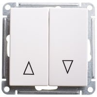 Механизм выключателя 2-кл. W59 с механич. блокировкой для жалюзи бел. SchE VS410-253-1-86 Schneider Electric купить по оптовой цене