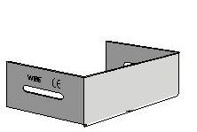 Заглушка торцевая W45/40-70 горячеоцинкованная 783000 Schneider Electric, цена, купить