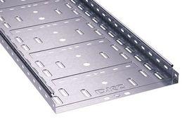 Лоток перфорированный 500х 50х2000х1,0мм   35257 DKC (ДКС) листовой L2000 сталь 1мм купить в Москве по низкой цене