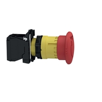 Кнопка аварийной остановки возврат поворотом 1НЗ триггерного действия пластик SchE XB5AS8442 Schneider Electric И ОТКЛ. купить в Москве по низкой цене
