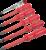 Набор инструментов электромонтажника 6 предметов 4 шлицевые отвертки SL 2 крестовые PH Navigator 61266 20212