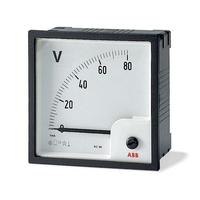 Вольтметр переменного тока VLM-1-100/72 прям. вкл. ABB 2CSG112130R4001 купить в Москве по низкой цене