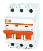 Выключатель автоматический 3-пол. 1А C 4,5кА ВА47-29 TDM SQ0206-0100 ELECTRIC купить по оптовой цене