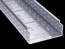 Лоток перфорированный 400х 80х2000х1,0мм   35316 DKC (ДКС) листовой L2000 сталь 1мм купить в Москве по низкой цене
