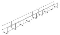 Лоток проволочный 70х 50х3000х3,5мм | ПЛМ-70.50 OSTEC купить в Москве по низкой цене