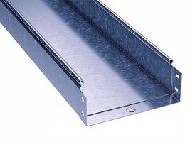 Лоток неперфорированный 80х 80х3000х1,0мм | 3506110 DKC (ДКС) толщина листовой L3000 сталь 1мм купить в Москве по низкой цене