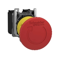 Кнопка аварийная возвратная 22мм Schneider Electric XB5AS8445 1НО+1НЗ ОСТ С купить в Москве по низкой цене