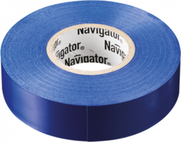 Лента самоклеющаяся изоляционная 20м синяя/голубая до 80°C Navigator 71114 17361 купить по оптовой цене