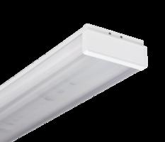 Светильник люминесцентный ЛПО-46-2х36-712 прямоугольный призма с ЭПРА 1046236712 Ардатовский СТЗ, цена, купить