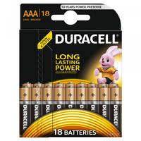 Батарейка Щелочнная (Алкалиновая) (AAA) LR03-18BL BASIC | Б0014449 81546741 Duracell купить по оптовой цене