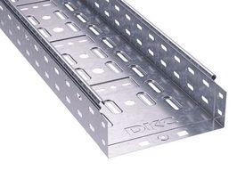 Лоток перфорированный 300х100х3000мм, горячеоцинкованный | 35344HDZ DKC (ДКС) листовой L3000 сталь оцинк цена, купить