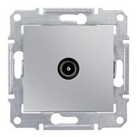Механизм розетки TV 1-м СП Sedna оконечная алюм. SchE SDN3201660 Schneider Electric купить по оптовой цене