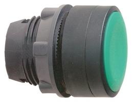 Головка для кнопки с потайным толкателем зел. SchE ZB5AA34 Schneider Electric цена, купить