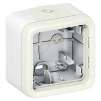Коробка установочная ОП 1-м Plexo бел. Leg 069689 Legrand для наружного монтажа IP55 1 пост купить в Москве по низкой цене