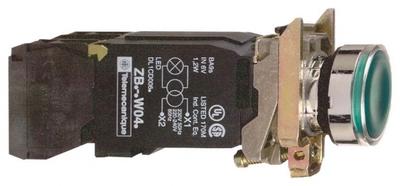 КНОПКА 22ММ 230В С ВОЗВ. ПОДСВ. XB4BW3345 | Schneider Electric инд цена, купить