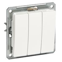Механизм выключателя 3-кл. СП W59 16А IP20 сосна SchE VS0516-351-7-86 Schneider Electric купить по оптовой цене