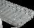 Лоток проволочный 400х85 L3000 сталь 4мм оцинк. IEK CLWG10-085-400-3 (ИЭК)