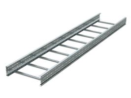 Лоток лестничный 500х150 L6000 сталь 1.5мм (лонжерон) цинк-ламель DKC ULM655ZL (ДКС) 150х500х6000 цена, купить