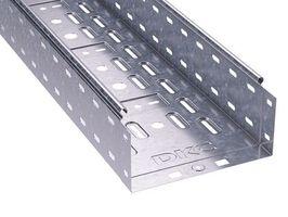 Лоток перфорированный 300х100 L2000 сталь 0.8мм ДКС 35334 DKC (ДКС) листовой купить в Москве по низкой цене