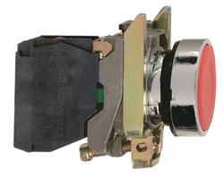 Кнопка красная возвратная 22мм без фиксации 1нз Schneider Electric XB4BA42 С купить в Москве по низкой цене