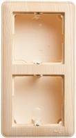 Коробка подъемная W59 для наружного монтажа с рамкой 2-местная сосна SchE KP-252-78 Schneider Electric купить по оптовой цене