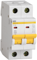 Выключатель автоматический двухполюсный ВА47-29 32А B 4,5кА   MVA20-2-032-B IEK (ИЭК) В модульный 2п купить в Москве по низкой цене