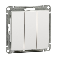 Механизм выключателя 3-кл. СП W59 10А IP20 10АХ бел. SchE VS0510-351-1-86 Schneider Electric купить по оптовой цене