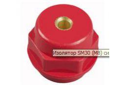 Изолятор SM30 силовой Н30хD27хМ6мм с болтом SQ0807-0008 TDM