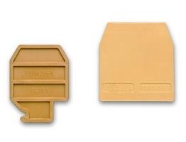 Изолятор торцевой TLS/PT бежевый для TLS.2 ZTL101 DKC, цена, купить
