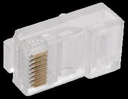 Разъём RJ-45 UTP для кабеля категории 5Е (CS3-1C5EU) IEK (ИЭК) купить по оптовой цене