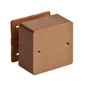 Коробка универсальная для кабель-каналов 85х85х45 корич. Рувинил 65015К цена, купить в Москве