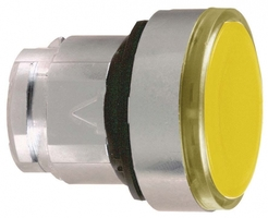 ГОЛОВКА КНОПКИ 22ММ ЖЕЛТАЯ С ЗАДЕРЖКОЙ ZB4BH053   Schneider Electric подсветкой цена, купить
