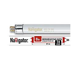 Лампа люминесцентная 94 101 NTL-T4-08-840-G5 Navigator 4607136941014 цена, купить в Москве