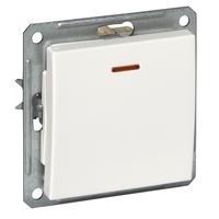Механизм выключателя 1-кл. СП W59 16А IP20 с индик. чер. бархат SchE VS116-153-6-86 (ВС116-153-6-86) Schneider Electric купить по оптовой цене